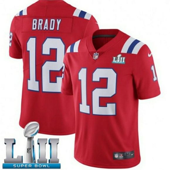 tom brady jersey super bowl 52